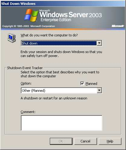 ANHANG C. WINDOWS SERVER 2003 Abbildung C.