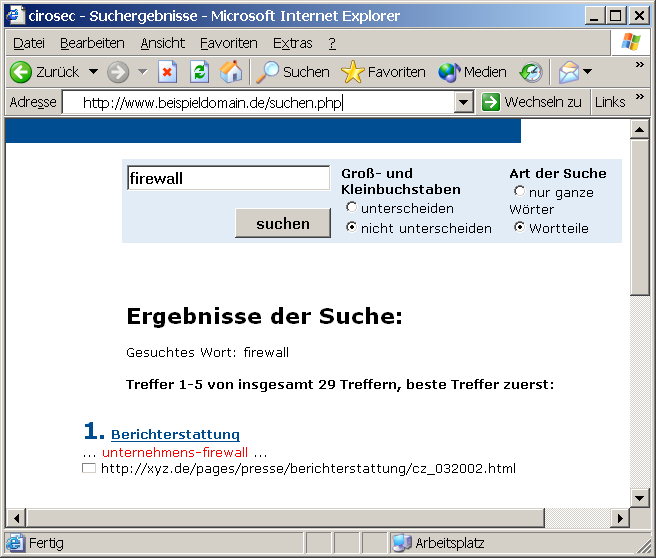 Beispiel: SQL Injection 1; 1; update set price = = 11 where artikel like %notebook Produktkatalog mit Suchfunktion select info from products where select info from id = 1;