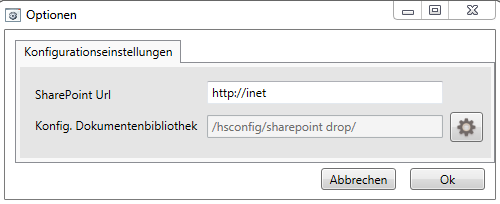 3 SharePoint Drop Manager 3.1 Zentrale Konfiguration Starten Sie bitte nach der Installation den SharePoint Drop Enterprise Manager.