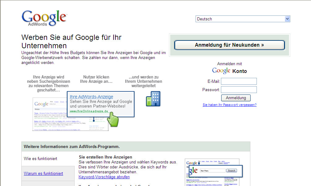 6. Bezahltes Suchmaschinen-Marketing. 6.3 Anbieter (1). Google AdWords: http://adwords.google.