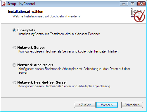 8 isytimes 2 Start 2.1 Installation isytimes kann unter allen Windows-Betriebssystemen ab Windows 2000 (einschließlich Windows 7) installiert werden. Legen Sie die CD in Ihr Laufwerk ein.