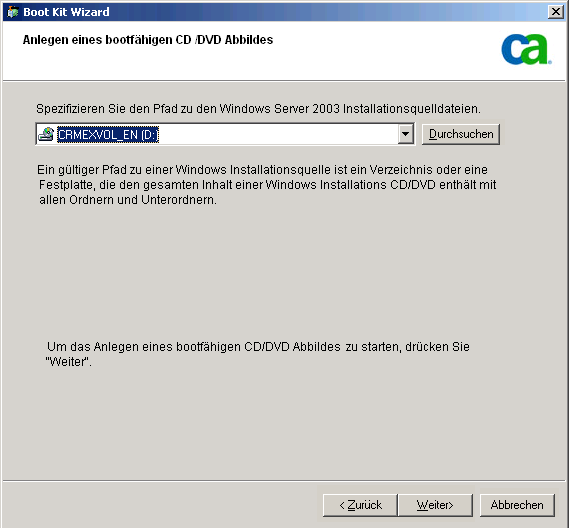 Disaster Recovery-Methoden unter Windows Server 2003 und Windows XP 9.