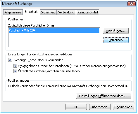 Exchange Server 2007 Benutzerhandbuch MS Outlook 2007 1.9.