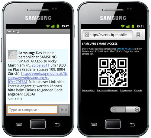 Mobiles Ticketing.