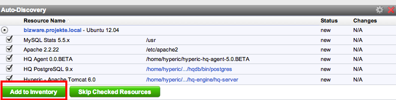 Hyperic 8 The server to agent communication channel is using a self-signed certificate and could not be verified Are you sure you want to continue connecting?
