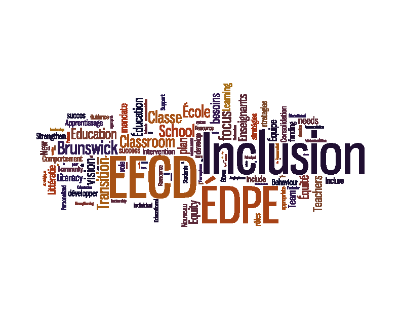 New Brunswick Ministry Action Plan - EECD Strengthening Inclusion Strengthening Schools