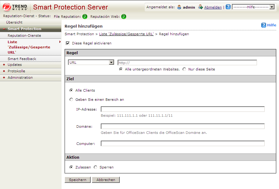 Trend Micro Smart Protection Server 2.