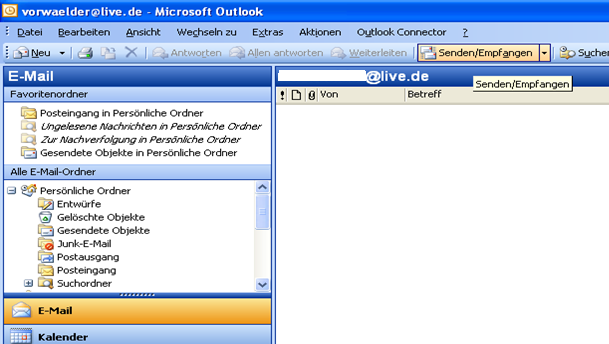 Outlook Hotmail Connector Kalender