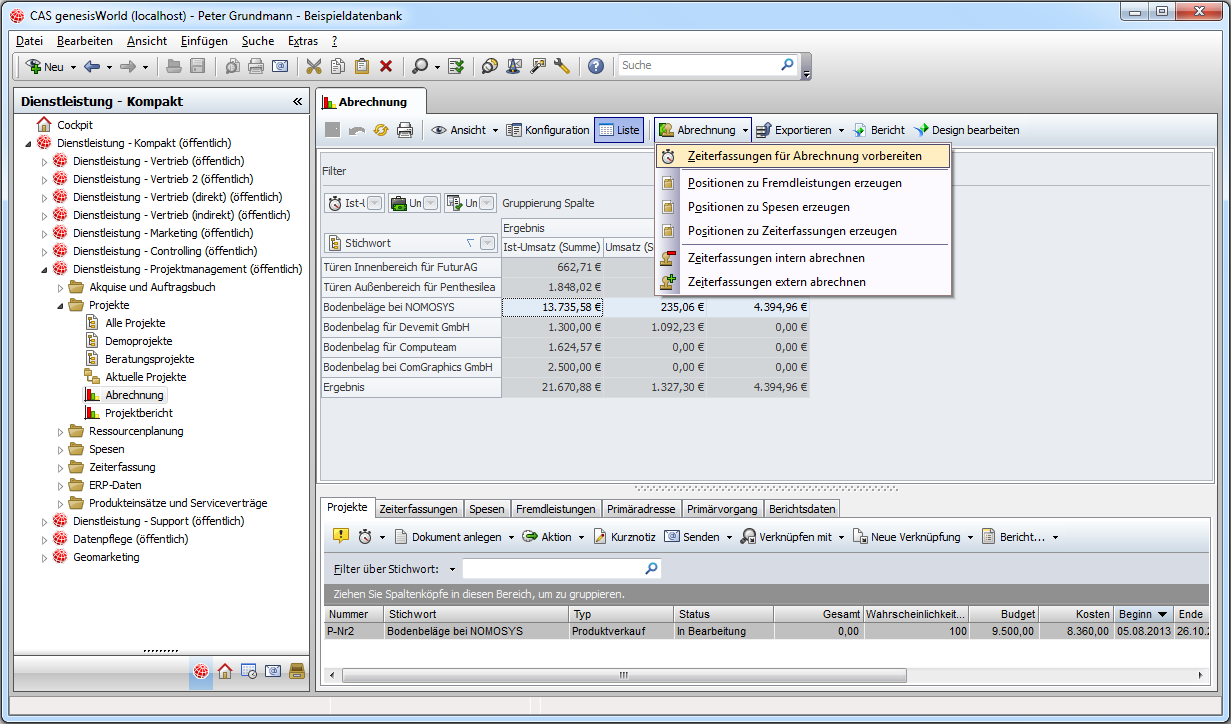 CAS Produkte x5.1.5 Software-Update x5.0.