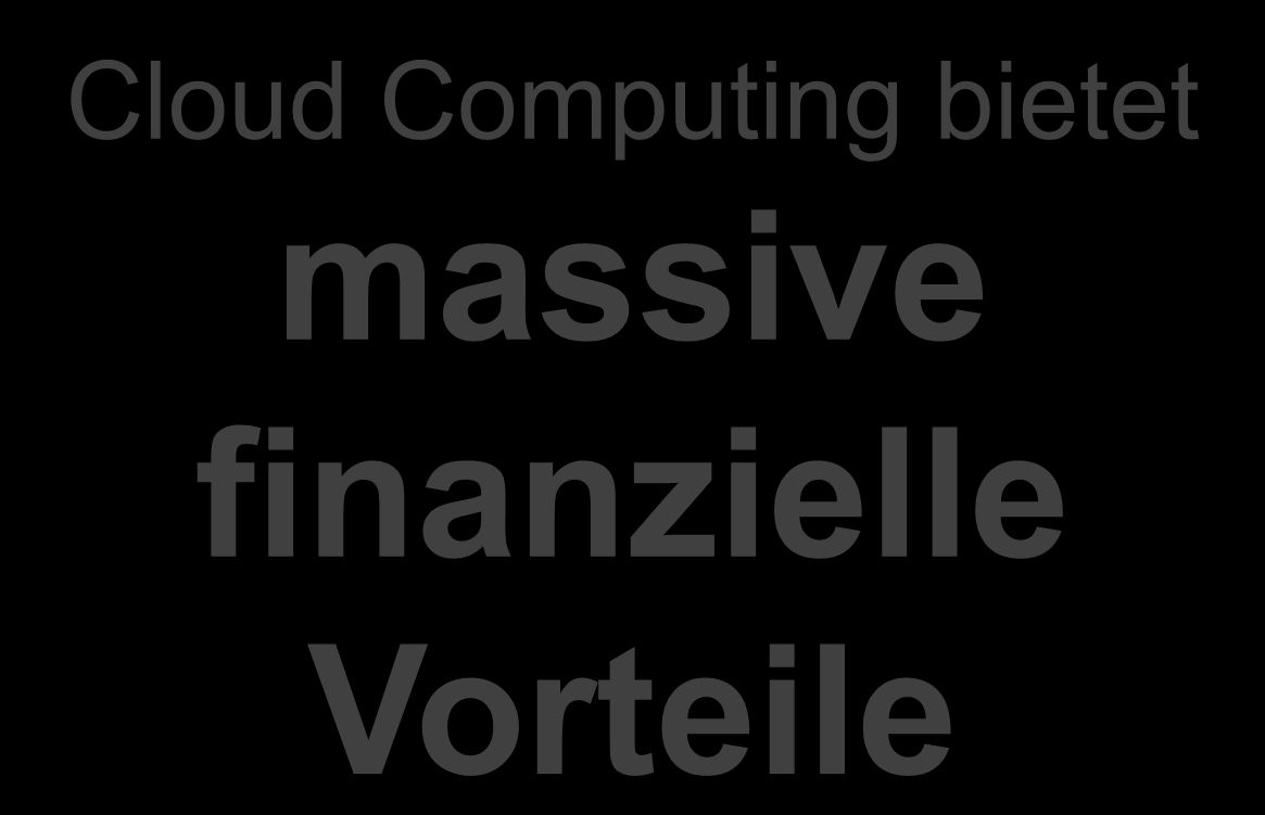 Cloud Computing bietet FAKTUM: massive Cloud