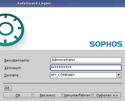 SafeGuard Easy 2 Über Sophos SafeGuard (SafeGuard Easy) Sophos SafeGuard (SafeGuard Easy) verschlüsselt Daten transparent.