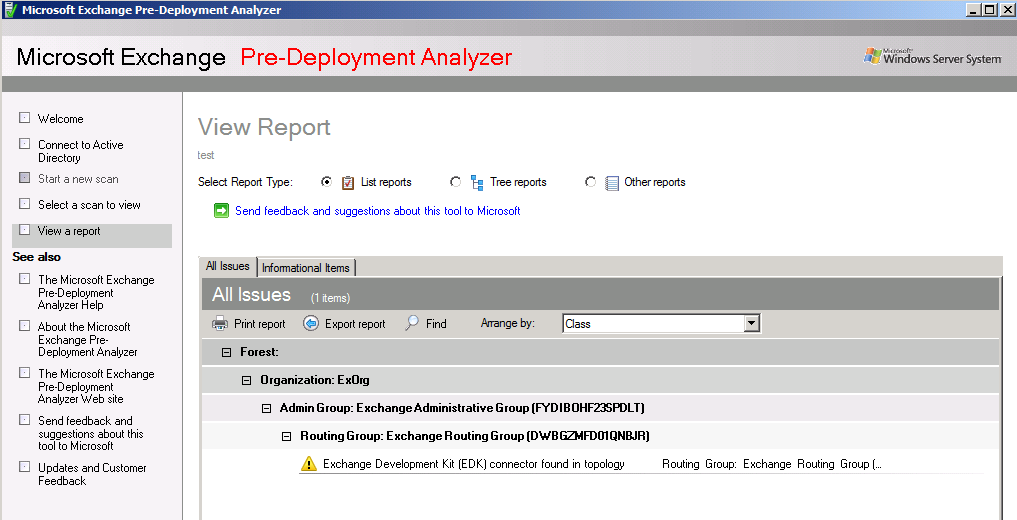 Exchange Server 2010 Pre Deployment Assistent Download: http://www.microsoft.com/download/en/details.aspx?