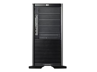 Hewlett-Packard HP ProLiant ML350 G5 Base - Tower - zweiweg - 1 x Quad-Core Xeon E5410 / 2.33 GHz - RAM 2 GB - SAS - Hot-Swap 2.