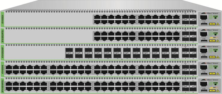 x510 Series Overview» Cost effective Edge Layer 2/3 Switching Platform Features full layer 2 and basic layer 3 switching Stackable with VCStack Fast Failover Local and long-distance stacking options