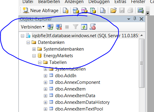 RDBMS: Sql-Azure Sql-Server in Azure Immer drei Knoten 1 Primary, 2 Standby 1 Sync commit, 1
