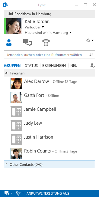 Lync 2013 Windows