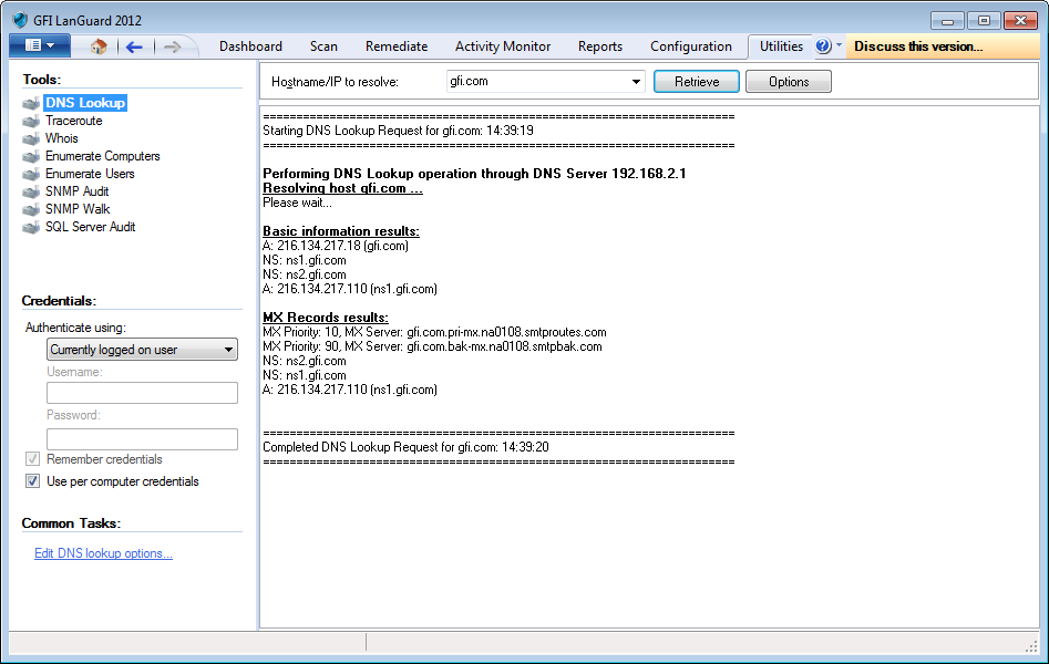 Screenshot 147: DNS-Such-Tool 4.