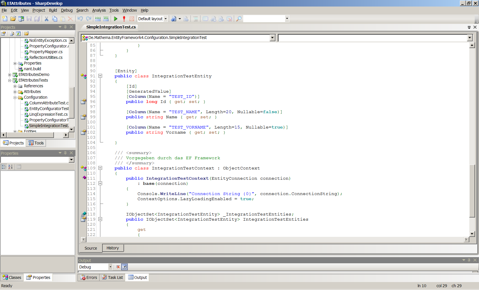 Integrated Development Environment Sharp Develop 4.0 Beta 3 http://www.icsharpcode.