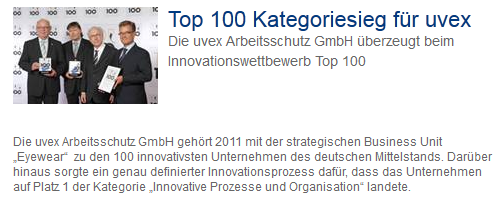 «Innovations-Champions» Auszug 24 Helbling Business