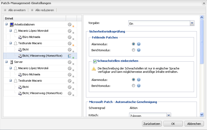 Patch Management & Schwachstellenanalyse Benutzerfreundlicher Service für Schwachstellenanalyse & Patch-Management GFI LANGuard Technologie Für Microsoft-Windows- und -Office-Anwendungen sowie