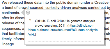 1. Publication of genomic sequence 2.