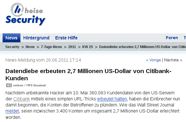 Citibank URL-Manipulation URL-Manipulation Local-File-Inclusion