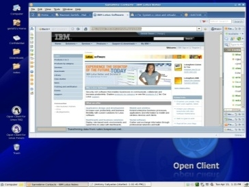 IBM Client for Smart Work in der Cloud - Virtuelle Desktop