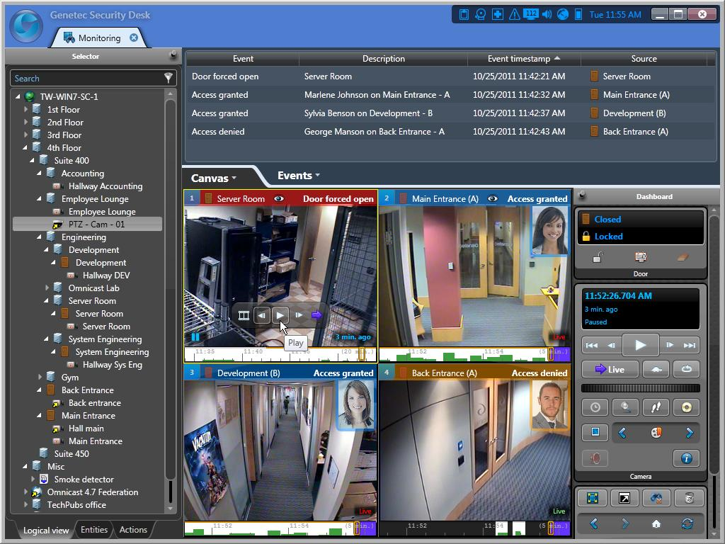 Genetec s Next Generation User