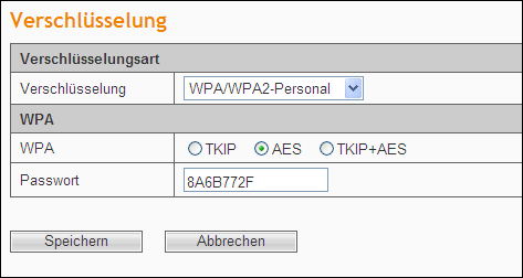 WPA-Enterprise: Wi-FiProtected Access, stützt sich auf einen RADIUS-Server. WPA2-Enterprise: Wi-FiProtected Access Version 2, stützt sich auf einen RADIUS-Server.