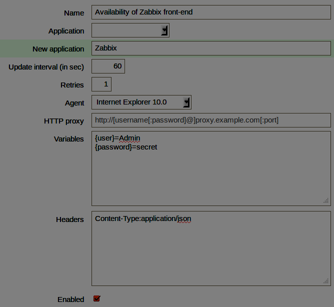 Erweitertes WEB monitoring Custom headers: SOAP, JSON RPC, etc Anzahl der Retrys SSL bezogene