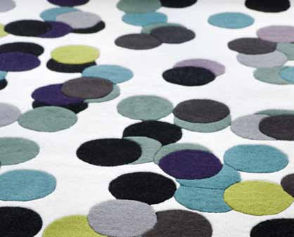 point hand-tufted I wool 140/200 cm I 170/240 cm