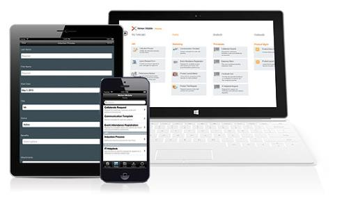 Workforce Productivity, Anywhere, Anytime QUICK & EASY Design workflows and forms in SharePoint Publish to multiple devices No Code INTUITIVE &