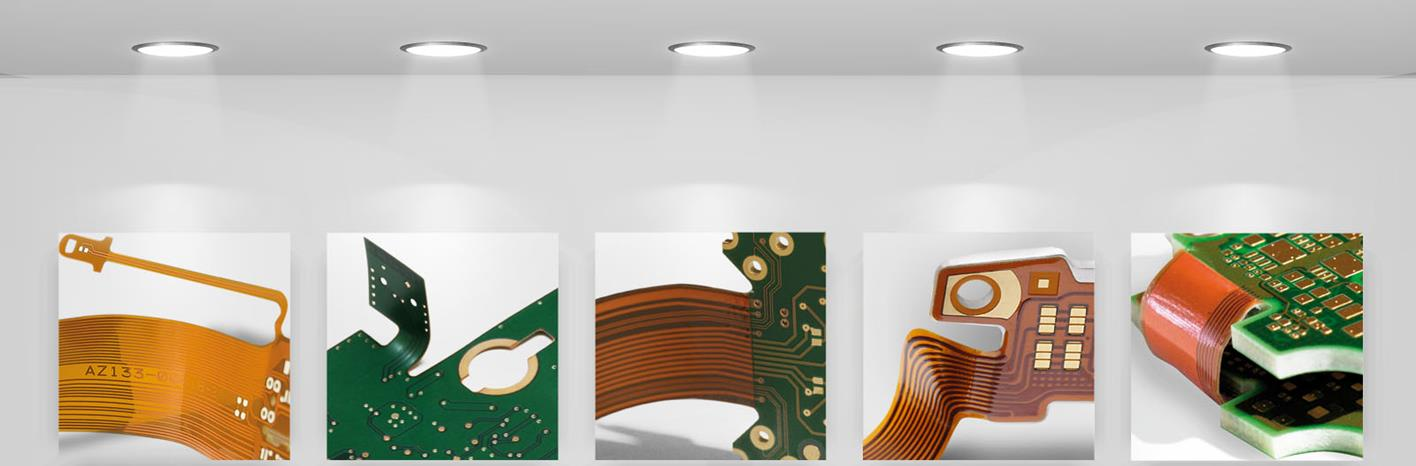 AT&S Product Portfolio Double-sided printed circuit boards Multilayer printed circuit boards HDI microvia