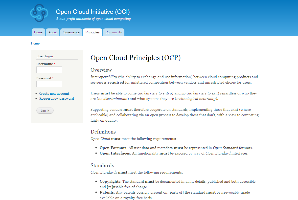 2011: Open Cloud