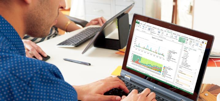 Microsoft Power BI für Office 365 Self-service BI mit den vertrauten Tools von Office und der Power der Cloud 1 Mrd.