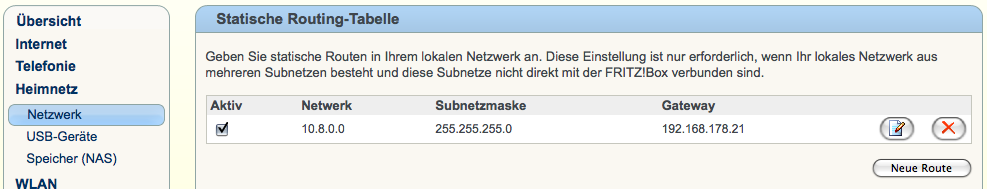 oder alternativ die IP des OpenVPN Servers.