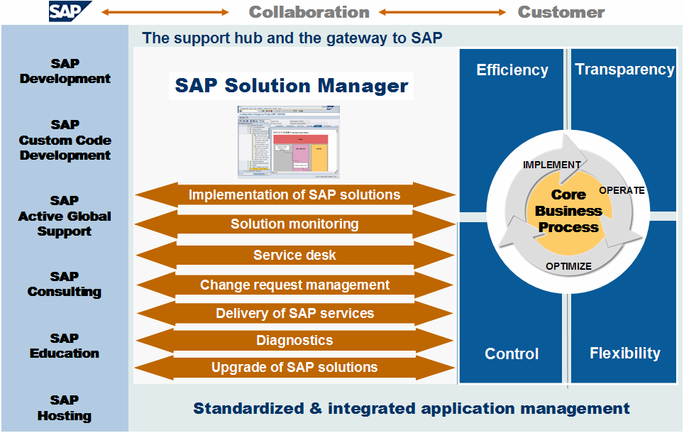 SAP Solution Manager Value Proposition SAP 2008 / Page 3 Objective: Present the SAP Solution Manager value proposition On the right-hand two-thirds of the slide you have a gray box representing the