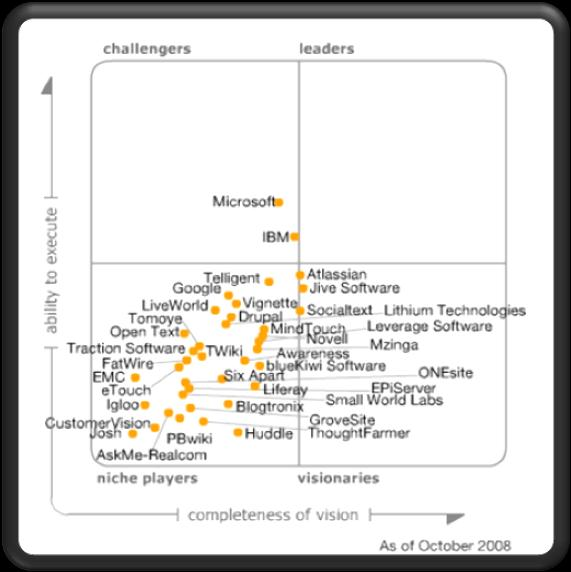 Gartner Magic Quadrant Portal Products