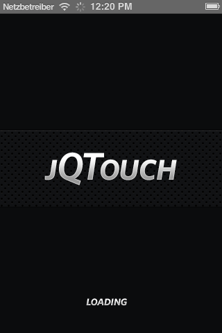 Framework jq-touch Cross