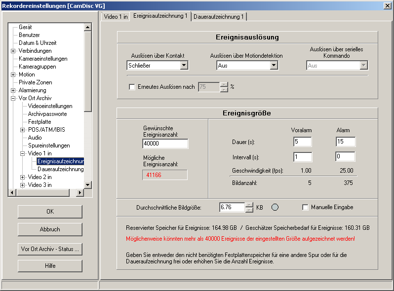 HeiTel by Xtralis CamControl LITE Software-Handbuch 7.11.