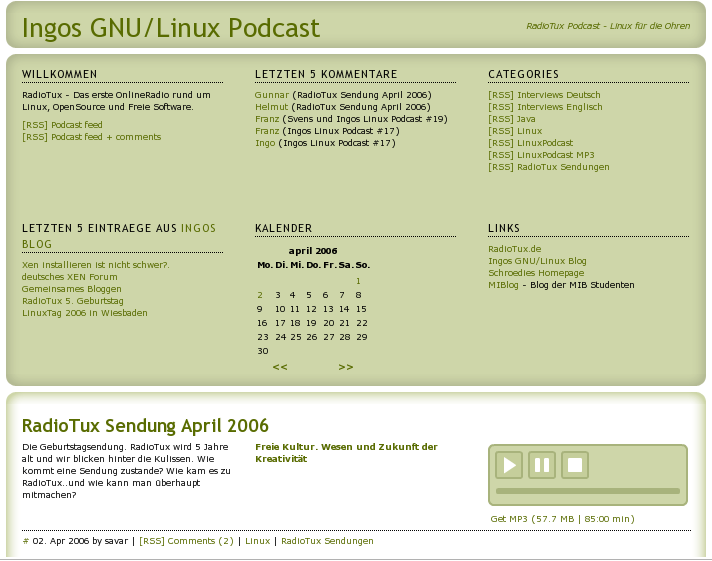 http://linuxpodcast.