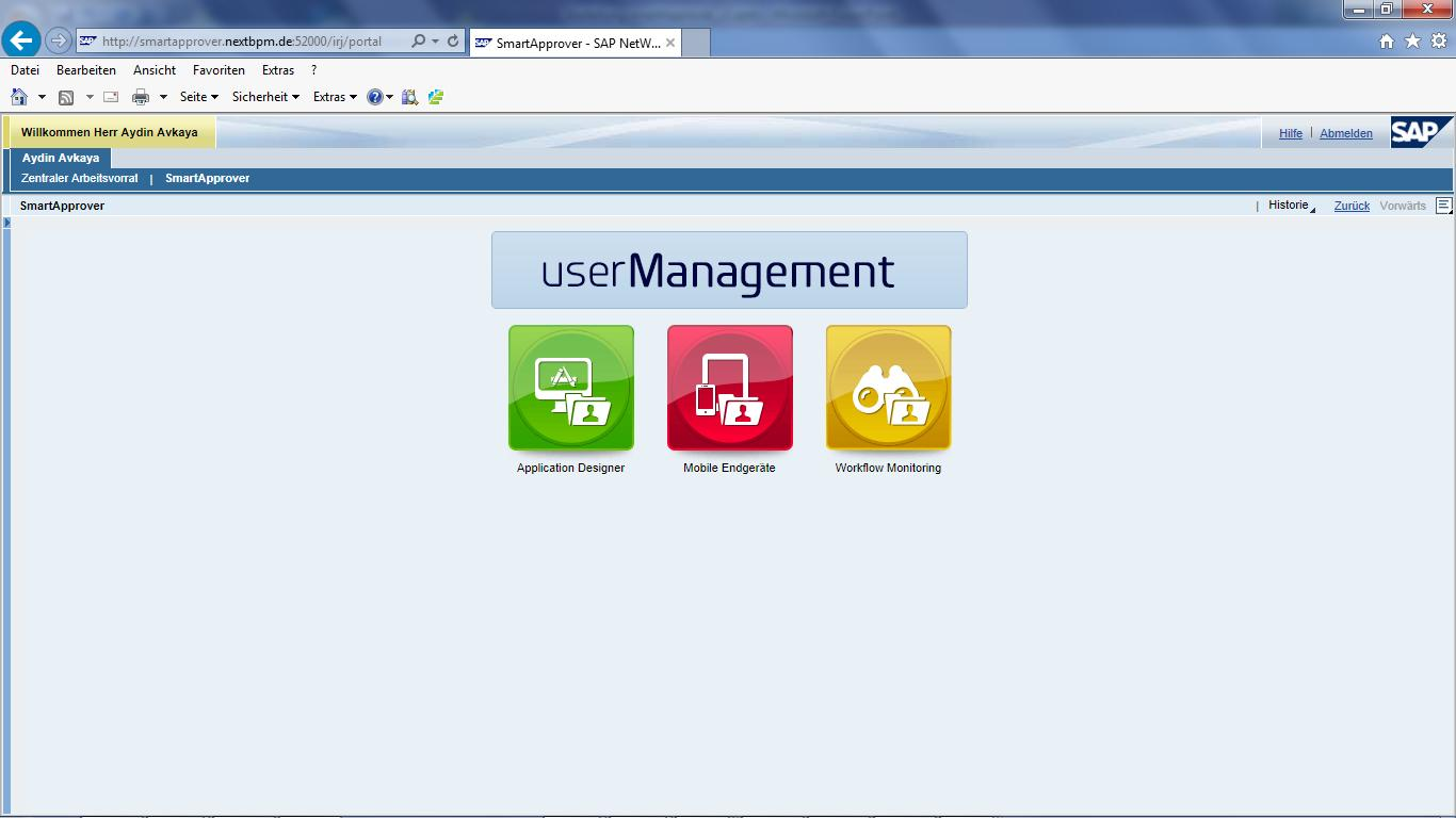 Mehrwert smartapprover User- Management mobiler Zugang, Monitoring,