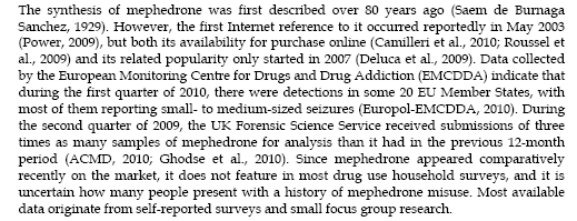 Mephedrone related Fatalities J.M.Corkery, F.