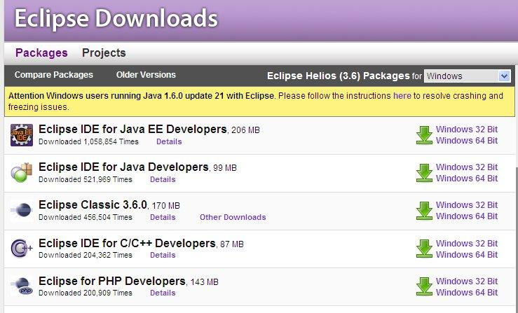 where to find Eclipse? http://www.eclipse.