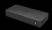 Inhalt a. Dell Dockingstation USB 3.0 (D3100) b. USB 3.0 I/O Kabel (2 ft) c. Netzadapter & Netzkabel d. Installations-CD e. HDMI zu DVI-Adapter a b c d e Spezifikationen Upstream-Eingang 1 x USB 3.