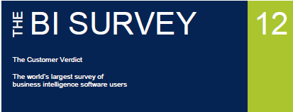 BARC BI 12 Preview (1/4) The BI Survey 12 Preview