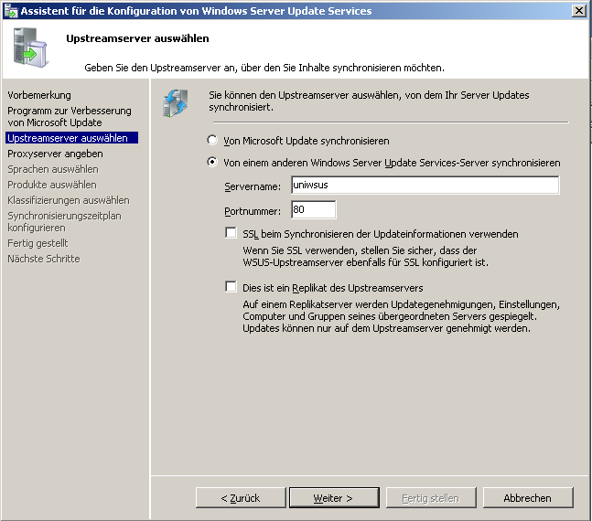 7 Windows Server Update Services 3.0 7.