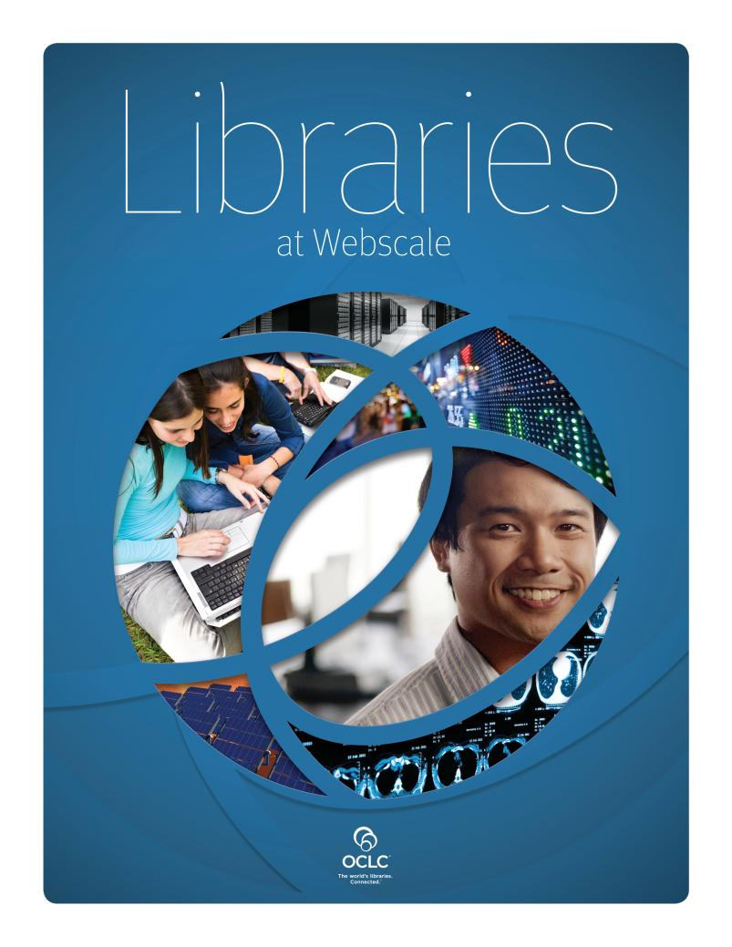Libraries at Webscale Report Interviews