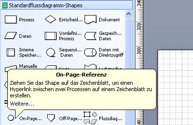 visio text in shape drehen