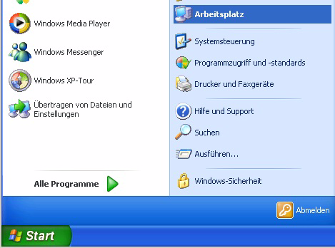 PC-Software installieren 15. XP-Modus starten: Start Alle Programme Windows Virtual PC Windows XP Mode. Das Fenster Windows XP Mode - Windows Virtual PC öffnet sich. 16.